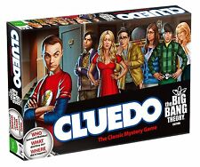 Cluedo Big Bang Theory Edition Board Game Ideal Gift Family Games