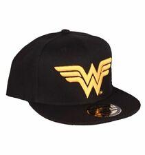 OFFICIAL LICENSED DC COMICS WONDER WOMAN LOGO SNAPBACK BASEBALL CAP NEW