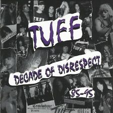 "TUFF ""Decade of Disrespect"" CD signed by Stevie Rachelle Glam Rock Hairbands 80s"
