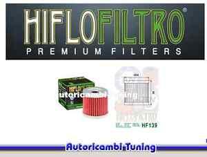 Filtre à Huile HIFLO HF139 Moto Suzuki Dr-Z S - 400 Cc - Années : 2000 - 2013