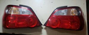 JDM Subaru Impreza WRX STi 04-05 Ver 8 Blobeye Sedan Rear Back Tail Lamps Lights