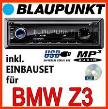 BLAUPUNKT BMW Z3 - Amsterdam 130 Auto RADIO CD MP3 USB AUTORADIO PKW - EINBAUSET
