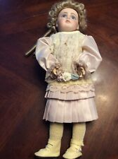 Mildred Seeley Antique Reproduction Bru Doll 1981 13 Inch Rare
