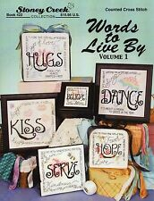 Words to Live By Vol. I Cross Stitch Book - Stoney Creek Collection 422 - New