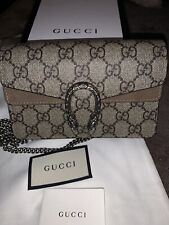 Gucci Dionysus Super Mini GG Bag With Dust Bag And Box (new)