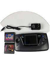 Sega Game Gear Console Handheld Games Bundle System Refurbished