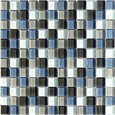 Glasmosaik Anthrazit Mix 23 Granit Fliesenspiegel Fliesen Mosaik Boden Bad