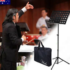 Foldable Sheet Music Stand Tripod Holder with Carry Bag for Stage Violin Guitar