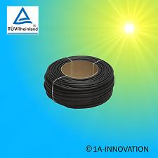 Solarkabel KBE 6mm² 100m Meter TÜV erdverlegbar Kabel Solaranlage PV1-F Rolle