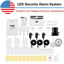 2020 Led Intelligent Wireless Digital Home Security Alarm System Burglarproof Us