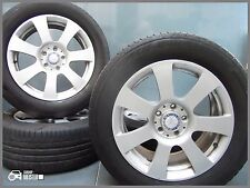 Genuine Mercedes S Class W221 17-INCH ALLOY WHEELS NEW! Winter TYRES 235 55 R17