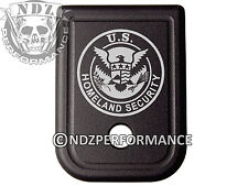 for Glock Magazine Plate 17 19 22 23 26 27 34 35 9mm 40cal Homeland Security 2