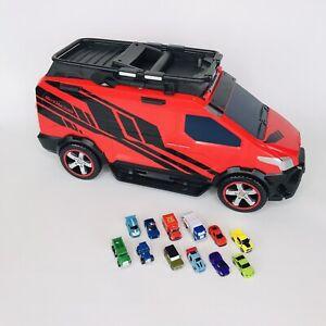 Micro Machines Transforming Super Van City Large Playset W/ 12 Cars