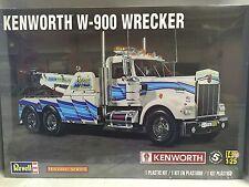 +++ Revell US 1/25 Kenworth® W-900 Wrecker Historic Se Plastic Model Kit 85-2510
