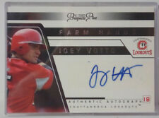 2006 TRISTAR Prospect Plus JOEY VOTTO Signature Chattanooga Lookouts card (FH48)
