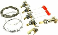 Montreux short Shaft wiring kit 1 CTS Switchcraft Orange drop FITS les paul ®