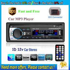 1 DIN Car Stereo Radio 12V FM In Dash SD/USB AUX BT Handsfree Head Unit
