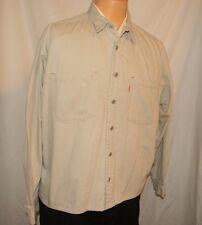 Levis Shirt Lightweight Jacket Metal Buttons Coat Large