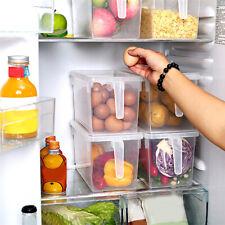 Exquisito Refrigerador Nevera Sellado Alimentos Contenedor Organizador Caja de almacenamiento de frutas