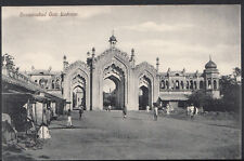 India Postcard - Hossainabad Gate, Lucknow     RS2057