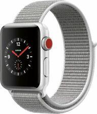 NEW Apple Watch Series 3 38mm GPS + Cellular Aluminum Case - Sport Loop