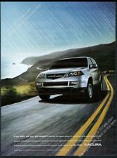 2005 Acura MDX silver SUV photo big vintage print ad