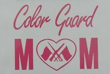 Color Guard Mom High School College Auxiliary Dance Spin Oracal Vinyl Sticker