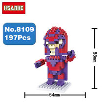 Hsanhe X-Men Hero Magneto Diamond DIY Micro Nano Blocks Brick Mini Building Toy