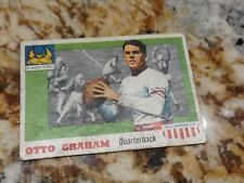 1955 topps all American 12 Otto graham