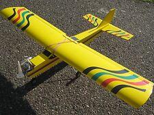 RC Fast Fertig 1550mm Trainer 40 EP GP ARF Verbrenner oder brushless gelb