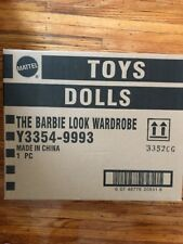 THE BARBIE DOLL LOOK COLLECTION WARDROBE CLOSET WITH SHIPPER