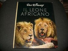 WALT DISNEY - IL LEONE AFRICANO - 1956 SWITZERLAND