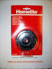 Homelite Trimmer Spool and String .080 UP04657 used on DA98866A trimmer head