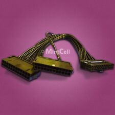 24PIN 20+4 Dual PSU Multiple Power Supply Splitter Adapter 33cm Cable Cord