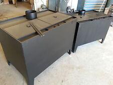 Workshop heater burns sawdust, wood and wood shavings. 28Kw.