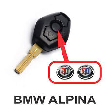 BMW ALPINA x2  fob key central button domed sticker badge (two) [H185]