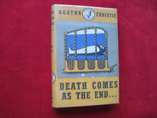 Agatha Christie Death Comes 1ST NEW ZEALAND 1945 DJ