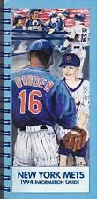 1994 New York Mets Baseball Media Guide - Doc Gooden on Front Cover