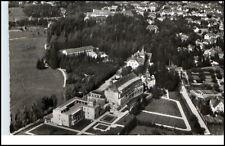 Bad Wörishofen Bayern alte Postkarte 1964 Partie am Kurhotel Sonnenhof Luftbild