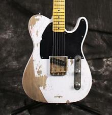 Starshine SR-MRL-003C Handmade Relic Electric Guitar ASH Body Brass Saddles
