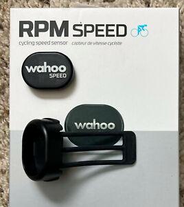Wahoo RPM Cycling Speed Sensor, Bluetooth/ANT+