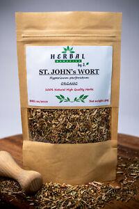 St Johns Wort Dried Herb (Hypericum perforatum) Dziurawiec 50/100/200g