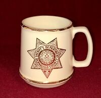 Vintage Bernalillo County New Mexico Sheriff's Department 8 oz Coffee Cup Mug