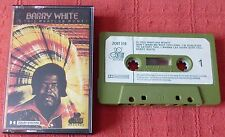 BARRY WHITE - RARE UK CASSETTE TAPE - IS THIS WHATCHA WONT? - PAPER LABELS