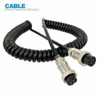 8 Pin Mic Microphone Extension Cable FOR YAESU ICOM KENWOOD CB HAM Radio Walkie