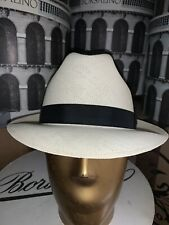 Bailey Shantung Straw Hat Made In USA Size 7 1/2