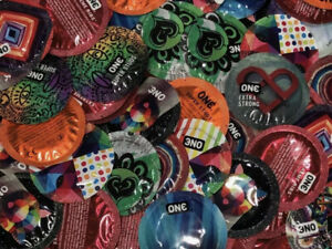 100 Pack - Assorted Condoms - XL, Extra Strong, Studded, Ribbed, Ultra thin