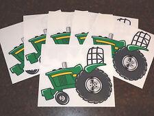 "SET of 6 JD PULLER ""John Deere"" Fans Artwork DECAL/STICKERS, Tractor Swag Series"