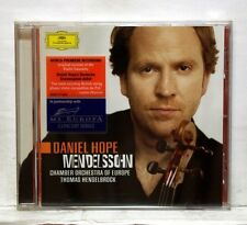 DANIEL HOPE, HENGLELBROCK - MENDELSSOHN violin concerto, octet, lieder DGG CD NM