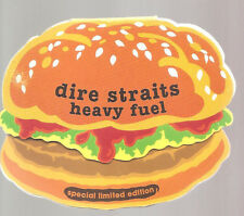 """Dire STRAITS """"Heavy Fuel"""" 3 inch CD SINGLE shaped gimmickcover"""